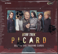 Star Trek Picard Season 1 Trading Cards Box
