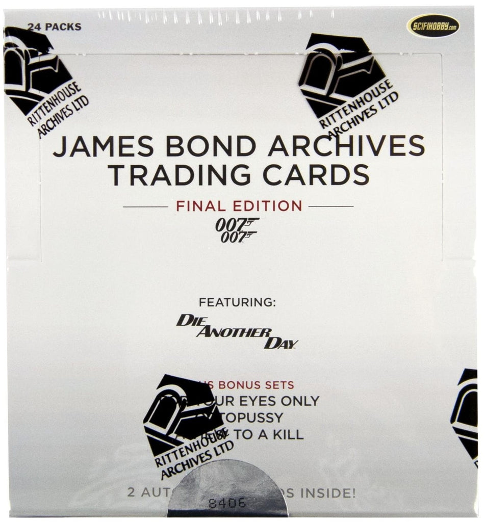 James Bond Archives The Final Edition Trading Cards Box (Ritenhouse)