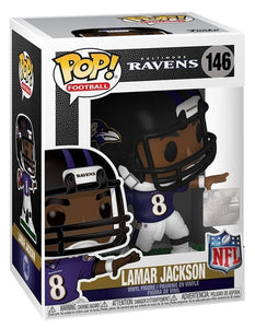 LAMAR JACKSON Funko Pop! Vinyl Figure (with Helmet)