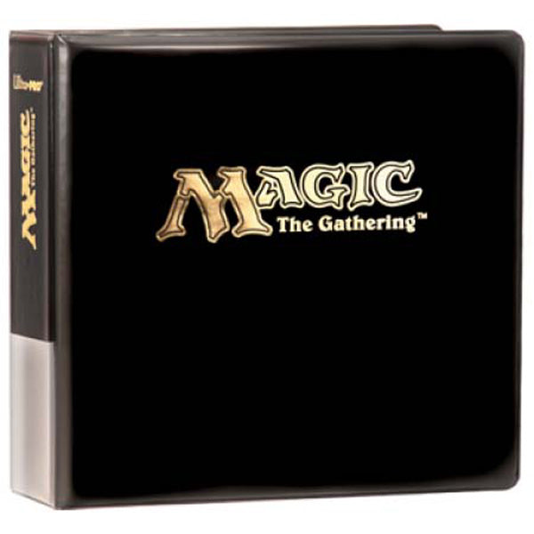 "Ultra-Pro Magic The Gathering 3"" D-Ring Binder (Black)"