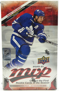 2020/21 Upper Deck MVP Hockey Hobby Box