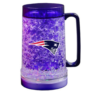 New England Patriots 18oz Light Up Freezer Mug