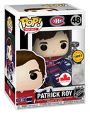 PATRICK ROY Funko Pop! Vinyl Figure *Limited CHASE Edition*