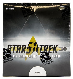 Star Trek 50th Anniversary Trading Cards Box (Rittenhouse)