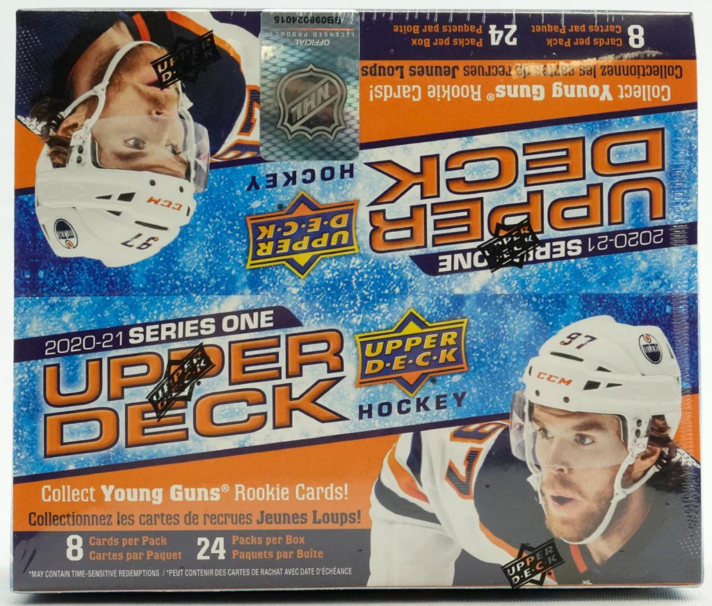 2020/21 Upper Deck Series 1 Hockey Retail Box