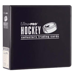 "Ultra-Pro 3"" D-Ring Hockey Binder (Black)"