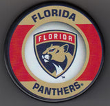 Florida Panthers Retro Hockey Puck