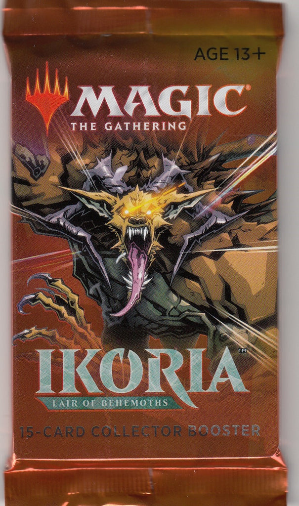Magic The Gathering Ikoria: Lair of Behemoths Collector Booster Pack