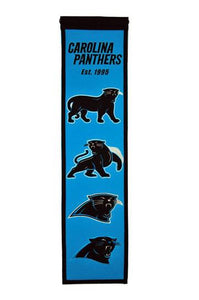 Carolina Panthers Heritage Banner