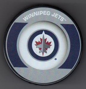 Winnipeg Jets Retro Hockey Puck