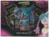 Pokemon Champion's Path Hatterene V Collection Box