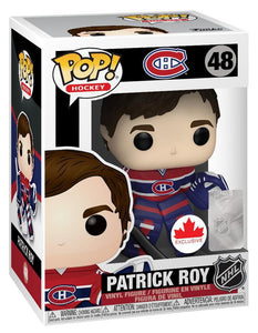 PATRICK ROY Funko Pop! Vinyl Figure *CANADIAN EXCLUSIVE*