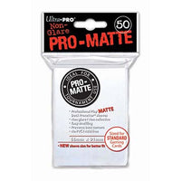Ultra-Pro Standard Sized White Deck Protector Sleeves (Pro-Matte)