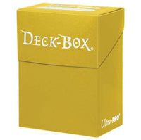 Ultra-Pro Yellow Deck Box