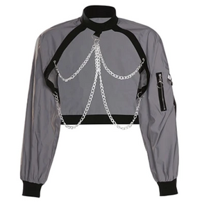 """Chain-Up"" Reflective Jacket"