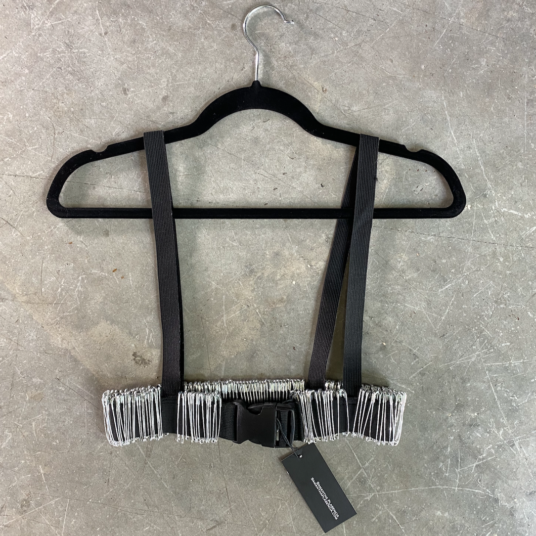 Safety Pin Harness Belt Accessory by Samantha Plasencia
