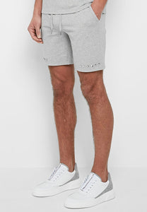Studded Shorts - Gray