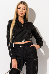 BUCKLE TRACK TOP