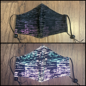 Rainbow Static Mask *Reflective*