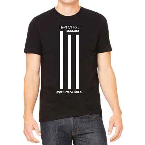 3 Stripe Design Collection: Crew-Neck Unisex T-shirt