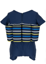 Buoyancy Suit - Navy/Yellow Stripe Swimwear for kids