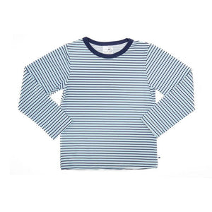 Rash Vest Long Sleeve - Blue Stripe
