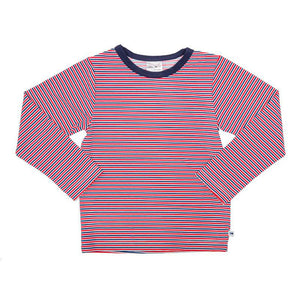Rash Vest Long Sleeve- Red Stripe