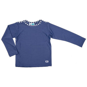 Rash Vest Long Sleeve - Seaside Navy