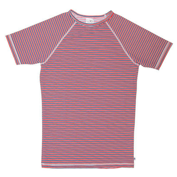 Rash Vest - Red Stripe