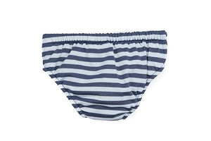 Swimming Nappy - Seaside Navy Stripe
