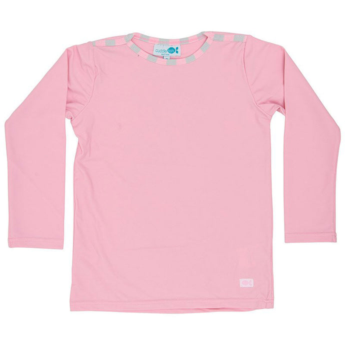Rash Vest Long Sleeve - Candy Pink