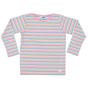 Rash Vest Long Sleeve - Gelati Stripe