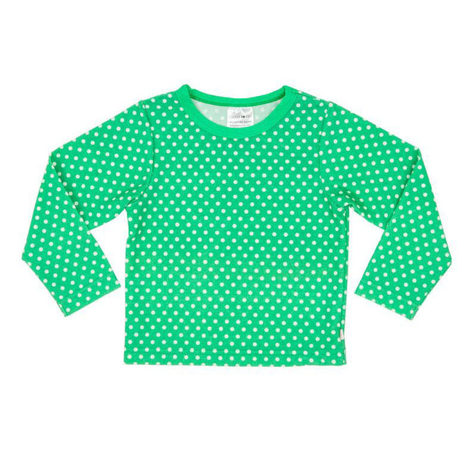 Rash Vest Long Sleeve UV Tee - Green Spot
