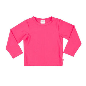 Rash Vest Long Sleeve - Pink