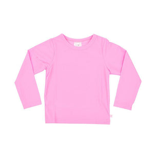Rash Vest Long Sleeve - Fluro Pink