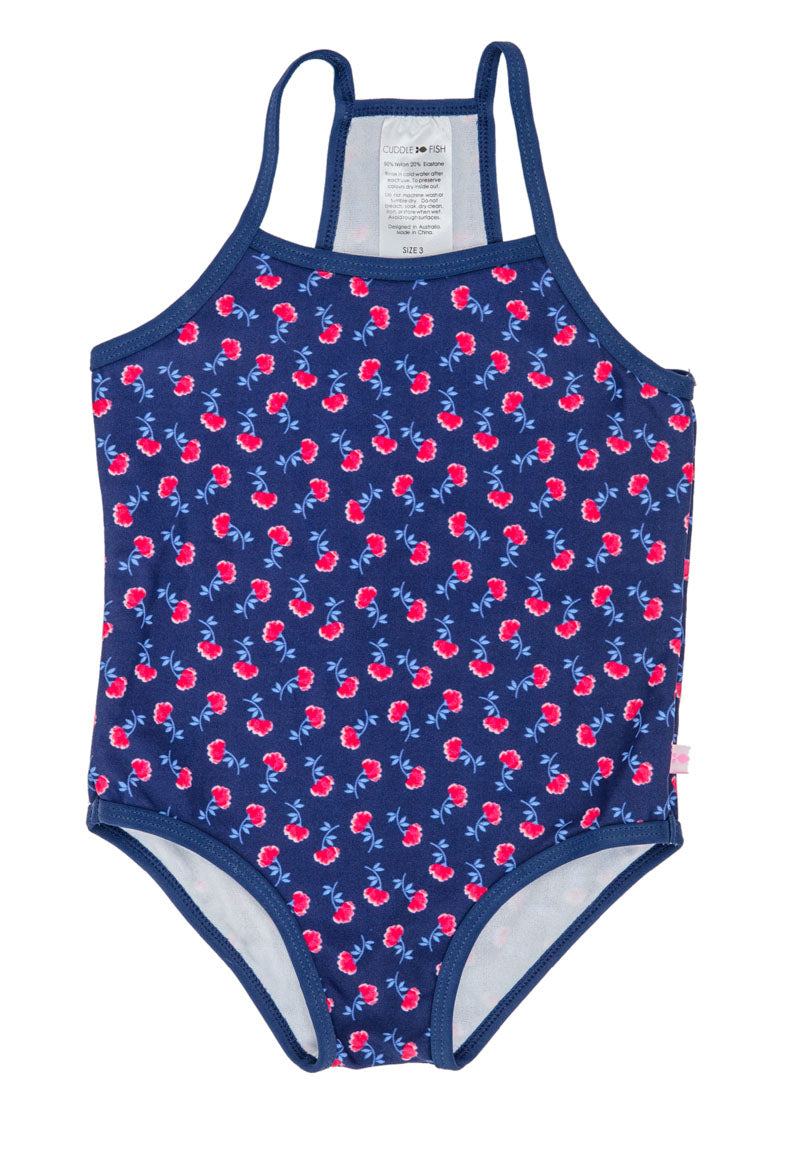 Racer Back One Piece - Poppy