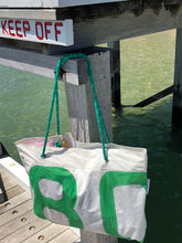 Beach Bag - Neutral / Green