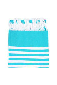 Turkish Beach Wrap - Aqua