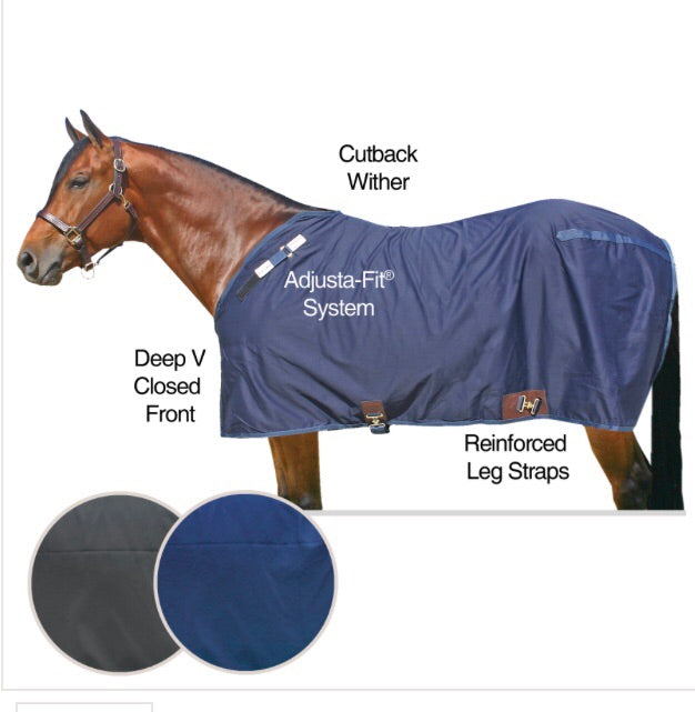 Adjusta-Fit® Cutback Cotton Closed Front Sheet