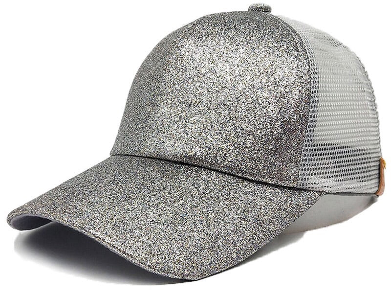 Pony tail Trucker Caps