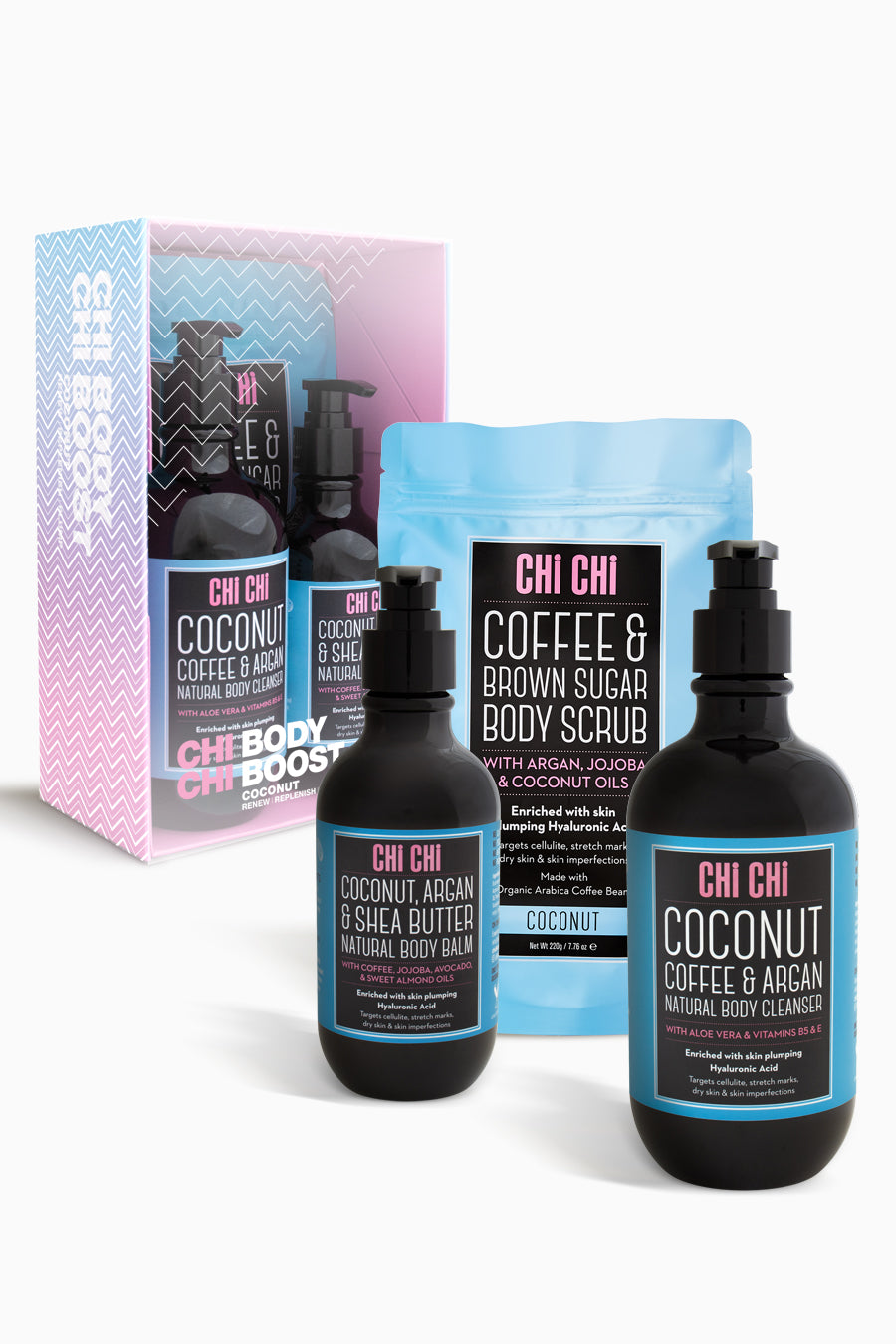 Body Boost Set - Coconut