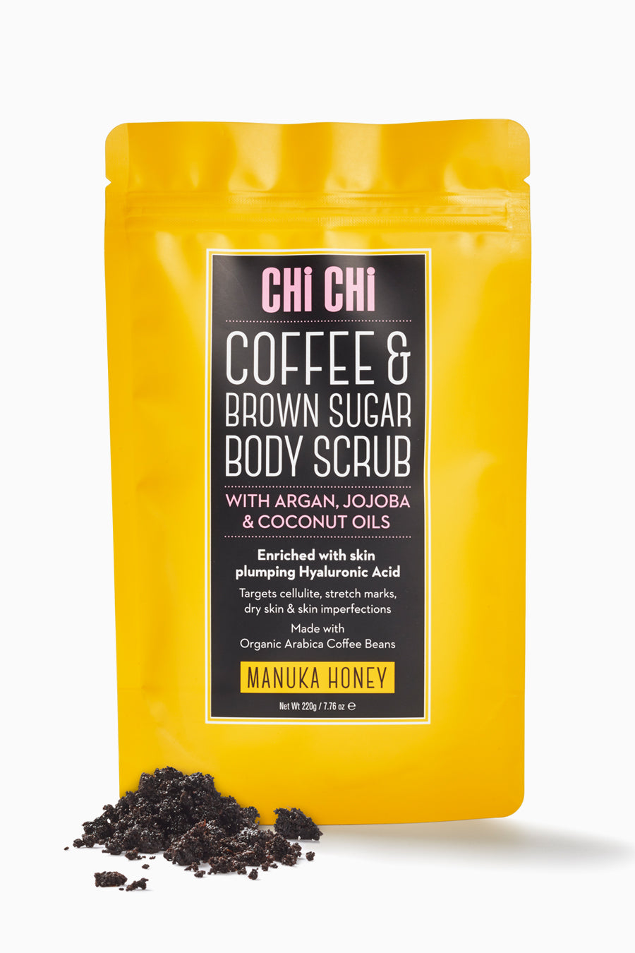 Manuka Honey - Coffee & Brown Sugar Scrub