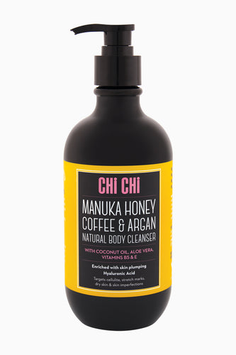 Manuka Honey & Argan Natural Body Cleanser