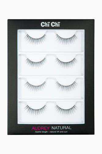 Audrey - Natural Lash 4 pack
