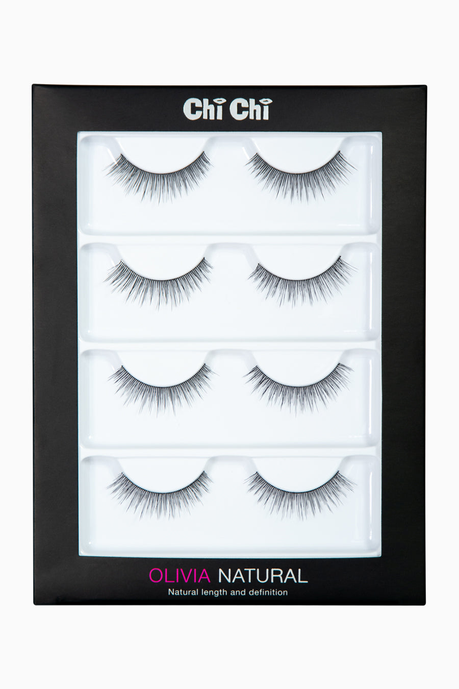 Olivia - Natural Lash 4 pack