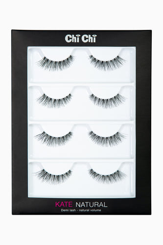Kate - Natural Lash 4 pack