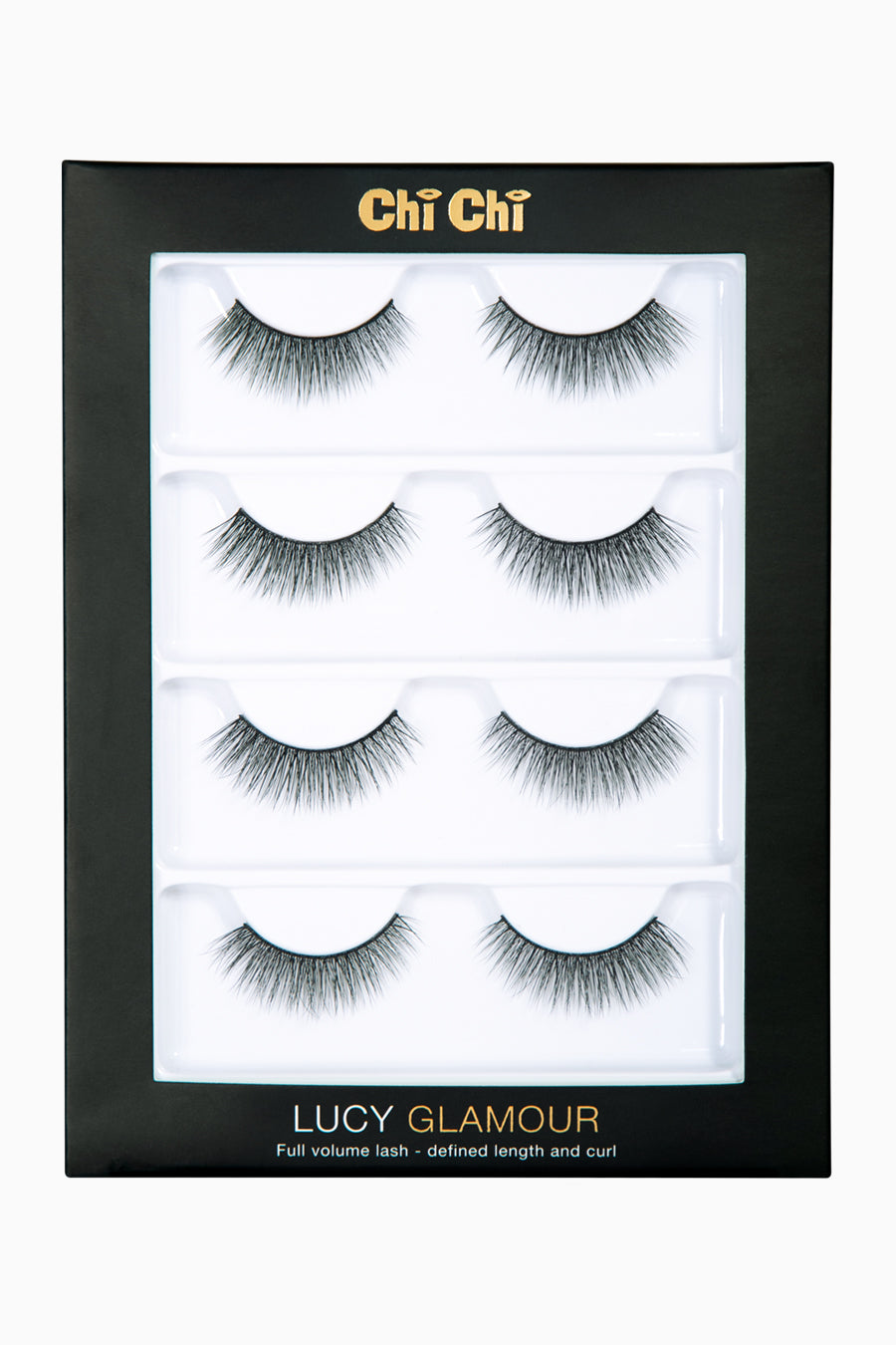 Lucy - Glamour Lash 4 pack