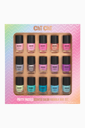 Pretty Pastels - Salon Formula Nail Set