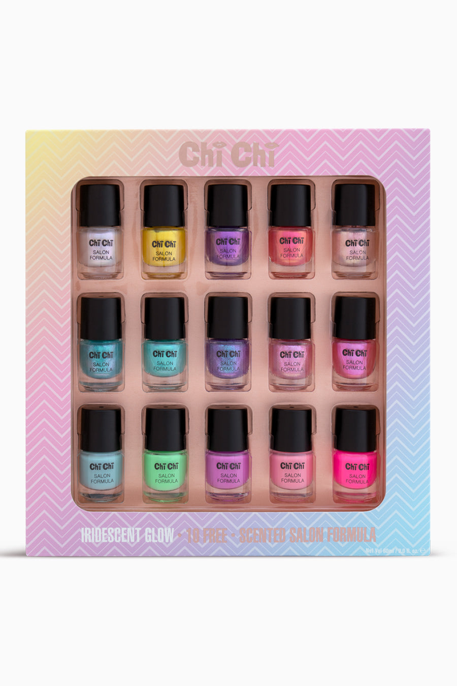 Iridescent Glow - Salon Formula Nail Set