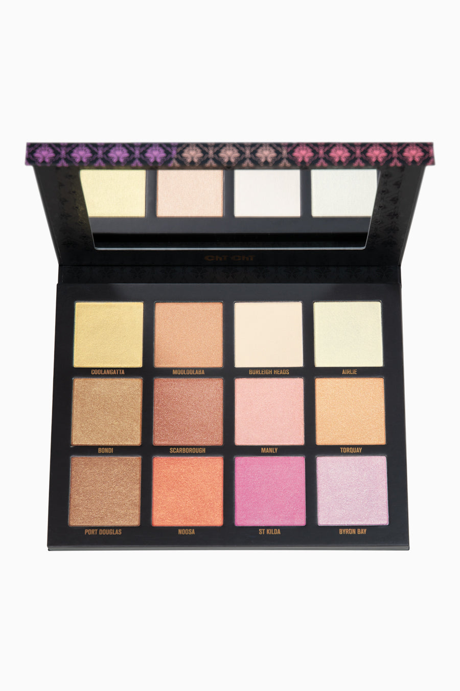 sunset-glow-highlighting-palette